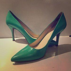 Nine West heels SEA FOAM GREEN